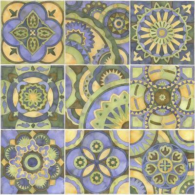 Geometry and Color Part 2-Julie Goonan-Giclee Print