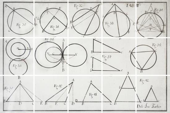 Geometry-Chris Dunker-Giclee Print