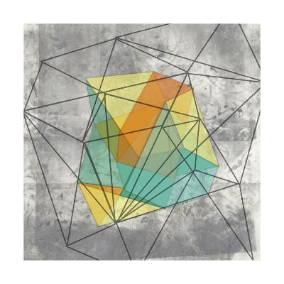 Geomolecule I-Jennifer Goldberger-Art Print