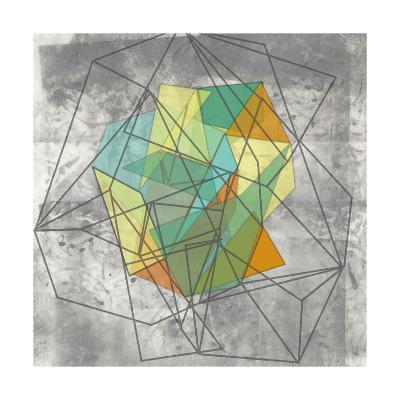 Geomolecule II-Jennifer Goldberger-Art Print