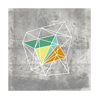 Geomolecule III-Jennifer Goldberger-Art Print