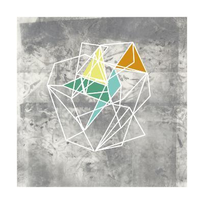 Geomolecule IV-Jennifer Goldberger-Art Print