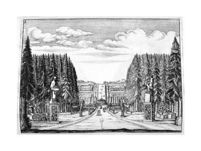 Chateau and Garden Design, 1664