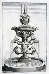 Fountain Design, 1664 by Georg Andreas Bockler