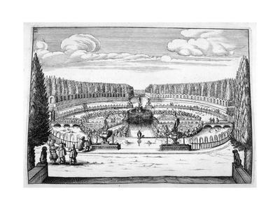 Ornamental Fountain and Garden Design, 1664
