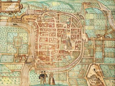 Map of Tridentum