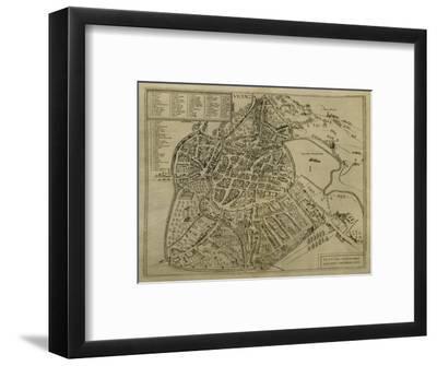 Map of Vicenza, Illustration from 'Civitates Orbis Terrarum', C.1580