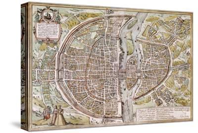 Paris Map, 1581