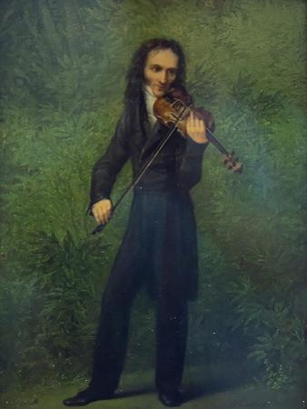 Portrait of Niccolò Paganini (1782-184), 1830-1831