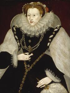 Portrait of Elizabeth I by Georg Gower