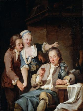 A Husband Deceived (Wine and Lov), 1765