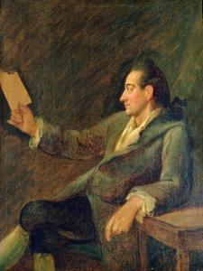Johann Wolfgang Von Goethe, 1775 by Georg Melchior Kraus