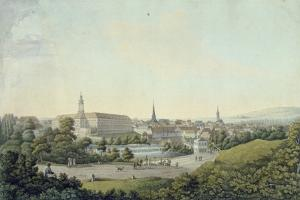 View of Weimar by Georg Melchior Kraus