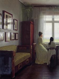 Interior, 1901 by Georg Nicolai Achen