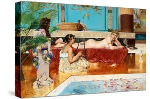 The Roman Baths, 1882 by Georg Pauli
