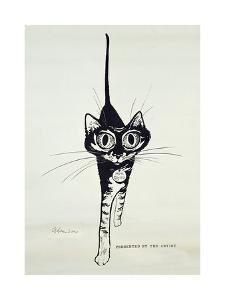 Move Quietly, C.1962 by George Adamson