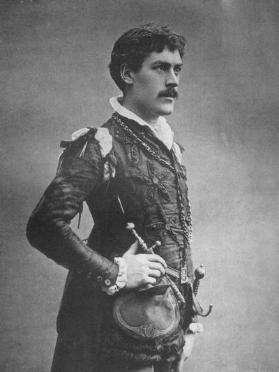 George Alexander, British Actor and Theatre Manager, as 'Faust, 1887-Ernest Barraud-Giclee Print