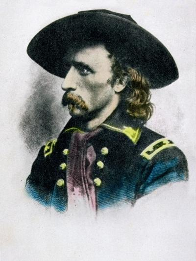 George Armstrong Custer--Giclee Print