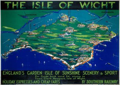 The Isle of Wight, SR, c.1930