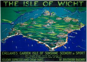 The Isle of Wight, SR, c.1930 by George Ayling