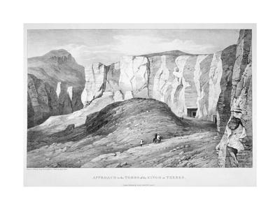 Approach to the Tombs of the Kings at Thebes, 19th Century