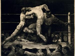 A Stag at Sharkey's, 1917 by George Bellows