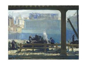 Blue Morning, 1909 by George Bellows