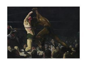 Both Members of This Club, 1909 by George Bellows