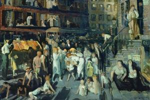 Cliff Dwellers by George Bellows