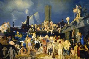 Riverfront by George Bellows