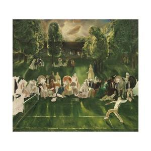 Tennis Tournament, 1920 by George Bellows
