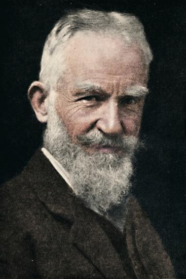 'George Bernard Shaw', c1925-Unknown-Photographic Print