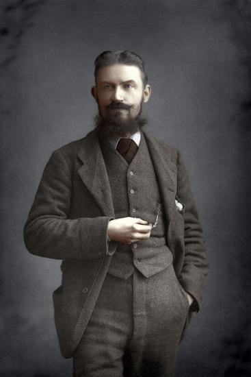 George Bernard Shaw, Irish Dramatist, Critic and Fabian, 1893-W&d Downey-Giclee Print