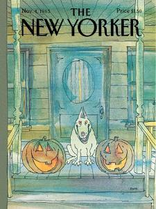 New Yorker Cover - November 04, 1985 by George Booth