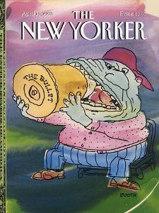 The New Yorker Cover - April 19, 1993 by George Booth