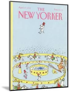 The New Yorker Cover - April 27, 1992 by George Booth