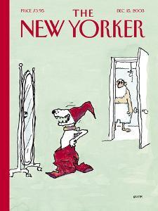 The New Yorker Cover - December 15, 2003 by George Booth