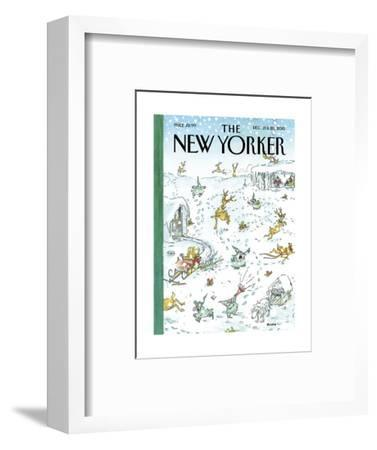 The New Yorker Cover - December 21, 2015