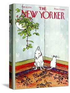 The New Yorker Cover - February 16, 1976 by George Booth