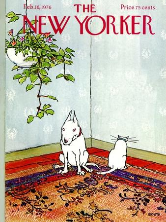 The New Yorker Cover - February 16, 1976