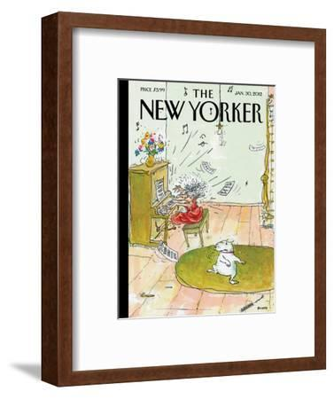 The New Yorker Cover - January 30, 2012