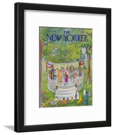 The New Yorker Cover - July 7, 1980