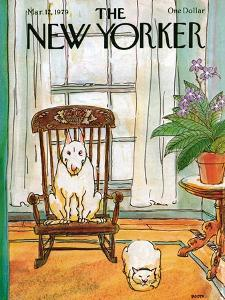 The New Yorker Cover - March 12, 1979 by George Booth