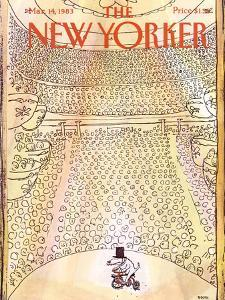 The New Yorker Cover - March 14, 1983 by George Booth