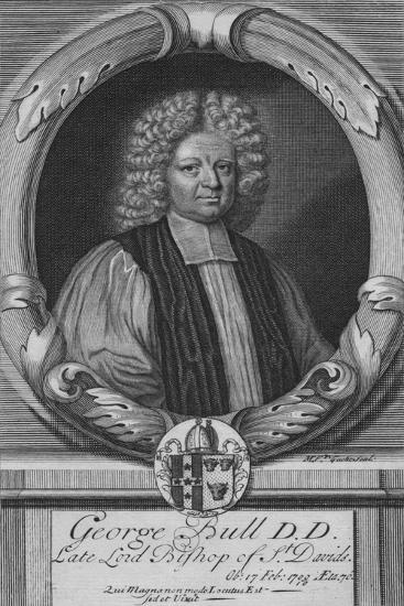 George Bull D.D, Late Lord Bishop of St. Davids, c18th century--Giclee Print