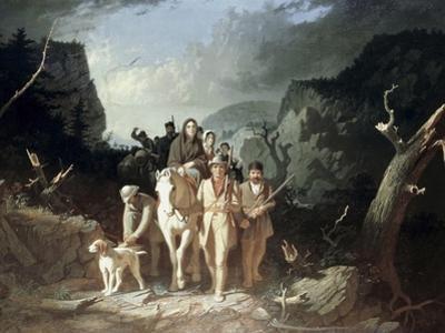 Daniel Boone Escorting Pioneers, c.1775
