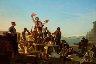 Jolly Flatboatmen in Port, 1857