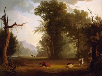 Landscape with Cattle, 1846 by George Caleb Bingham