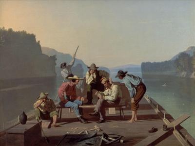 Raftsmen Playing Cards, 1847