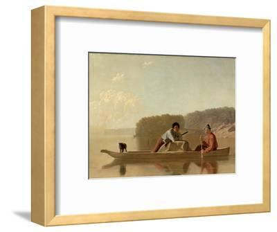 The Trapper's Return, 1851